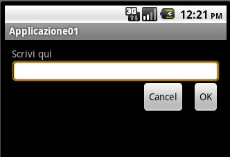 layout terminale android